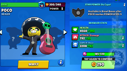 Brawl Stars Upgrades