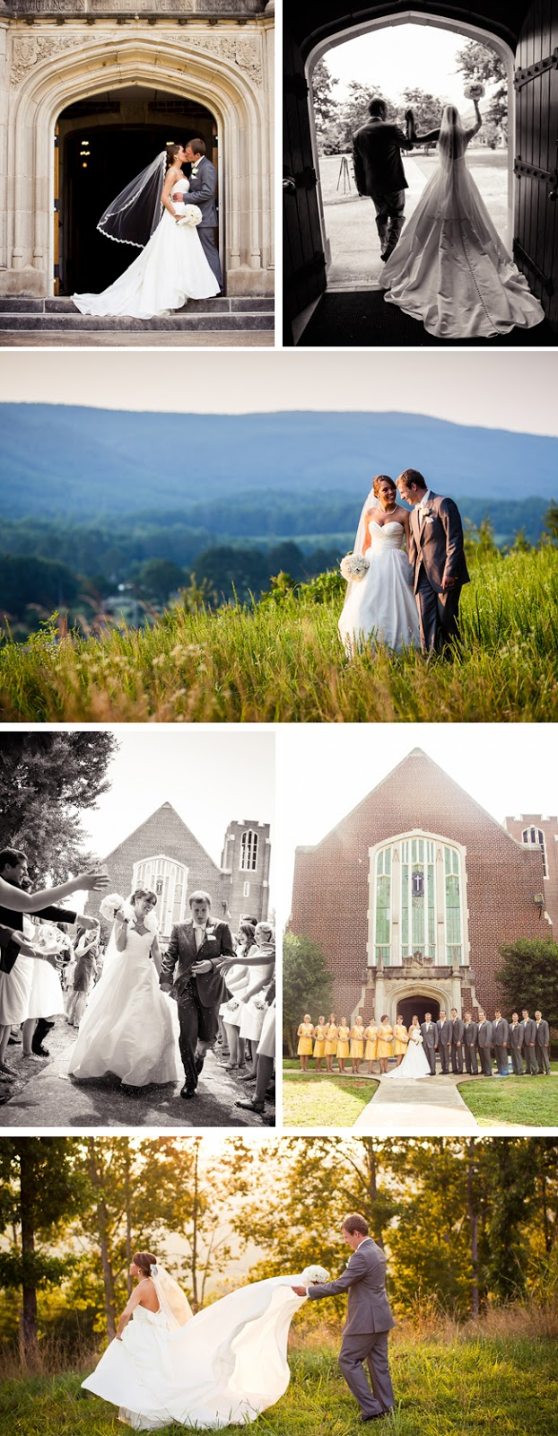 classic Southern chapel wedding by Bamber Photography