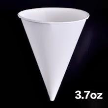Tazas de cono de papel