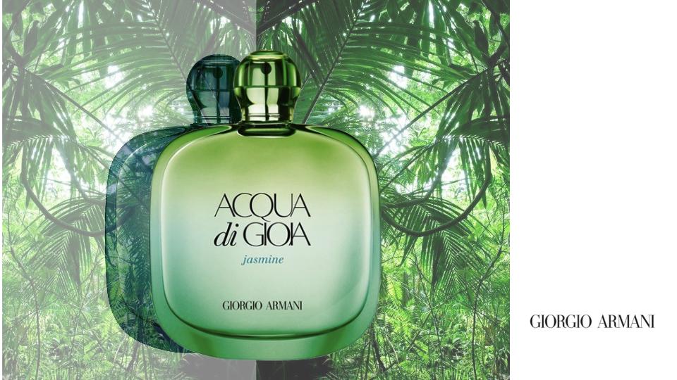 The Beauty Cove Il Profumo Acqua Di Gioia Jasmine Di Giorgio Armani