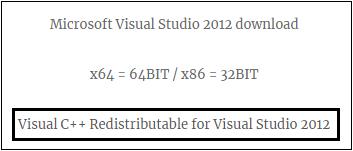 mfc120.dll missing windows 7