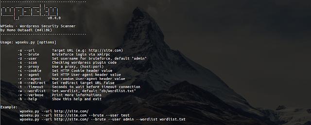 WPSeku v0.4 - Wordpress Security Scanner