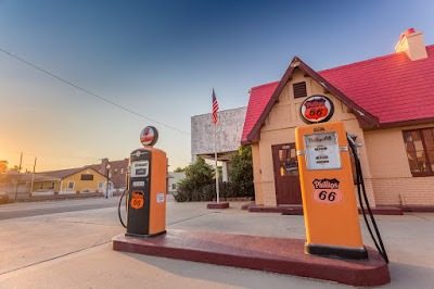 Baxter Springs Route 66 Kansas_by_Laurence Norah