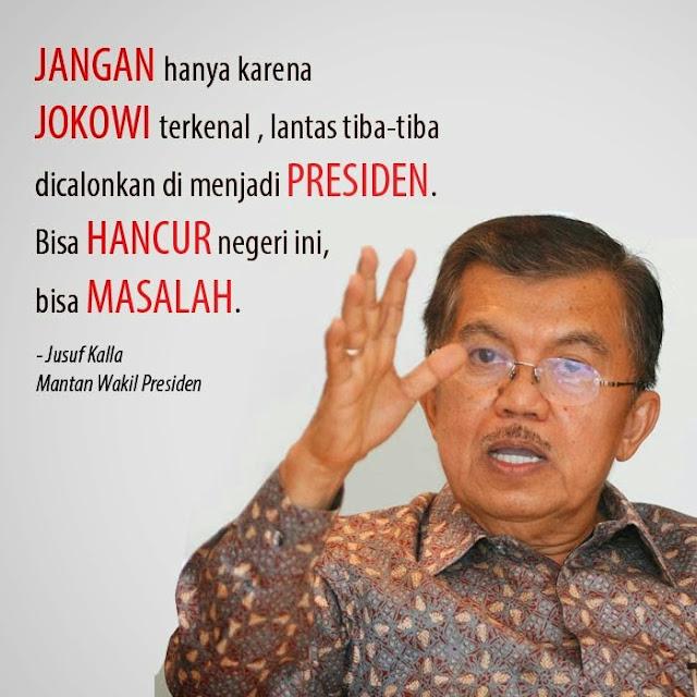 Prediksi JK Indonesia Hancur Dipimpin Jokowi Bisa Jadi Kenyataan