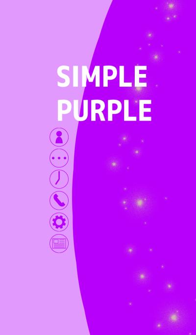 Simple purple thema typeA(For Japan)