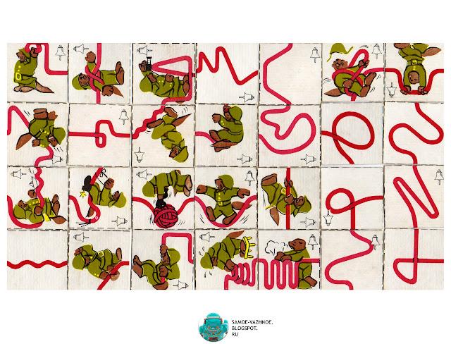 Настольная игра для детей СССР. Весёлые пожарные  распечатать, скан, версия для печати, скачать инструкция Пожарные, Пожарники, бобры, шланги, шланг. Игра пожарные бобры кроты шланги колокольчики СССР, советская Эстония, Латвия Весёлые пожарные.