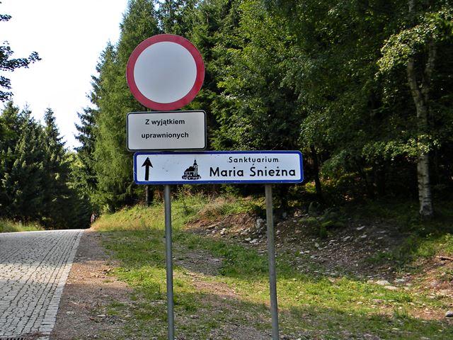 stop, Igliczna, droga, zakazy