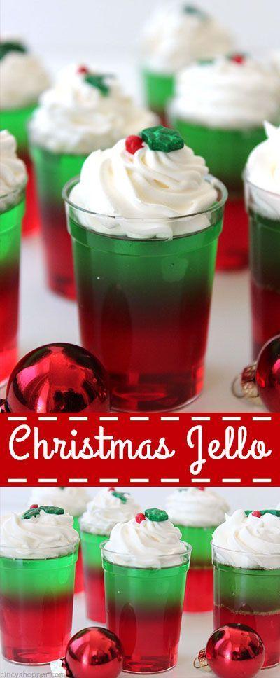 Delicious Christmas Jello