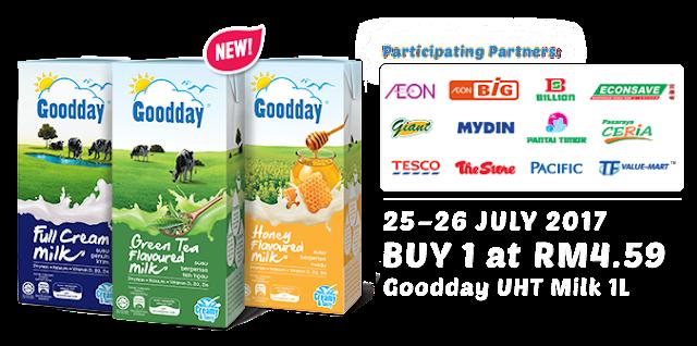 Goodday UHT Milk 1L RM4.59
