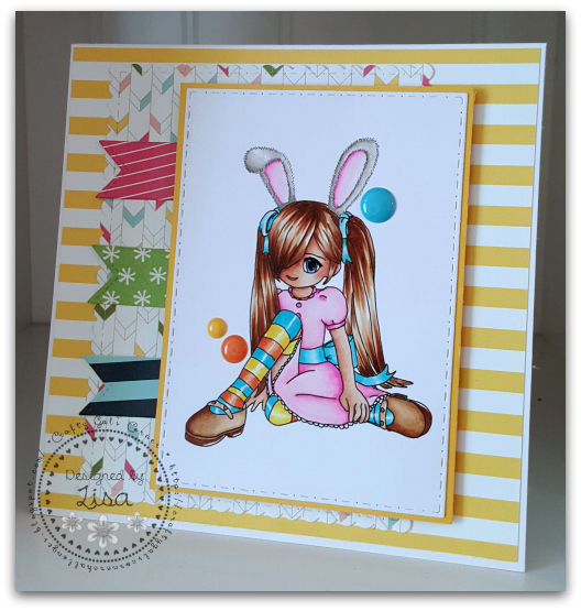 Created In the Crafting Cave with Lisa for Anything Goes Challenge
