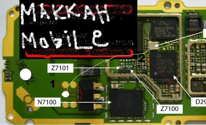 Nokia 1209 Dead Power Problem No Switching On