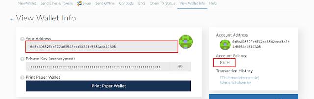 cara membuat wallet ethereum