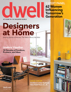 Semihandmade Made the Dwell July 2012 Cover