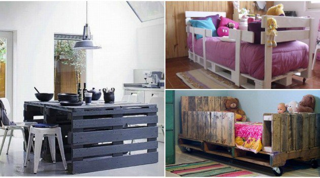 Top 28 Insanely Genius Diy Pallet Indoor Furniture Designs