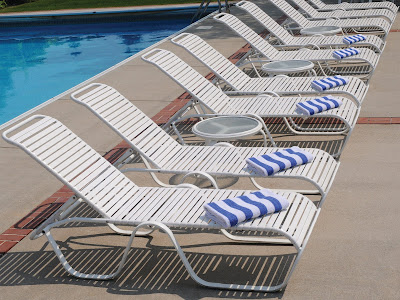 My Favorite Things Pool Chairs
