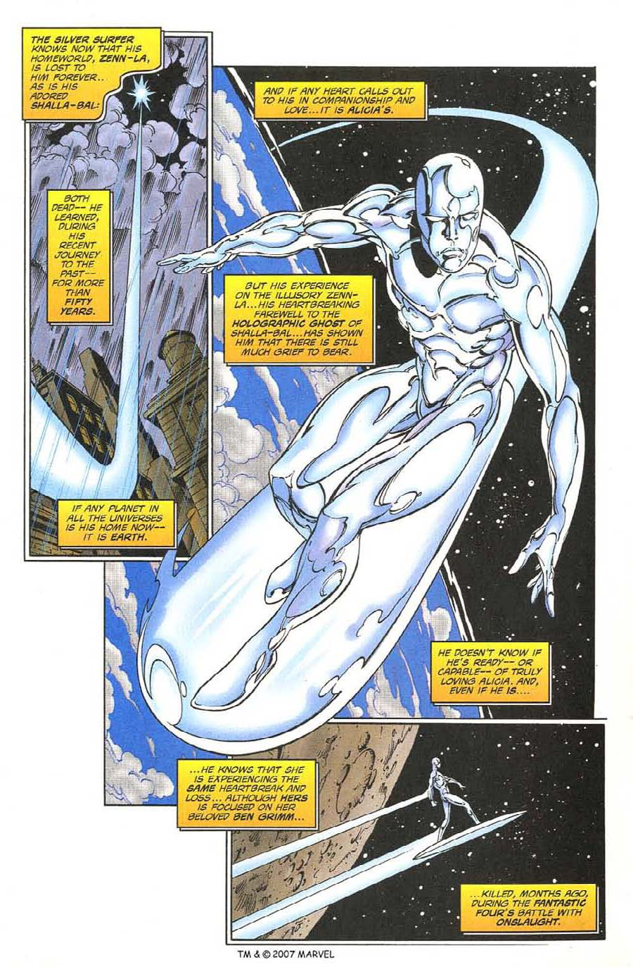 Read online Silver Surfer (1987) comic -  Issue #134 - 7
