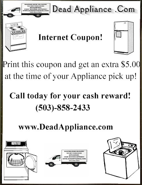 Dead Appliance Internet Coupons