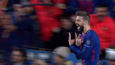 UEFA-08 Barcelona 4 vs 1 Roma 04-04-2018