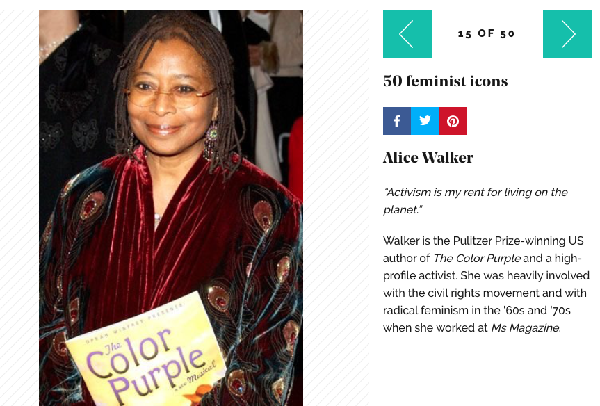 feminism the color purple An eco feminist study of alice walker the color purple - free download as pdf file (pdf), text file (txt) or read online for free.