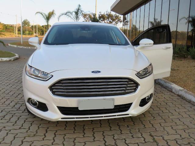 Ford Fusion 2016 Titanium Branco Pérola