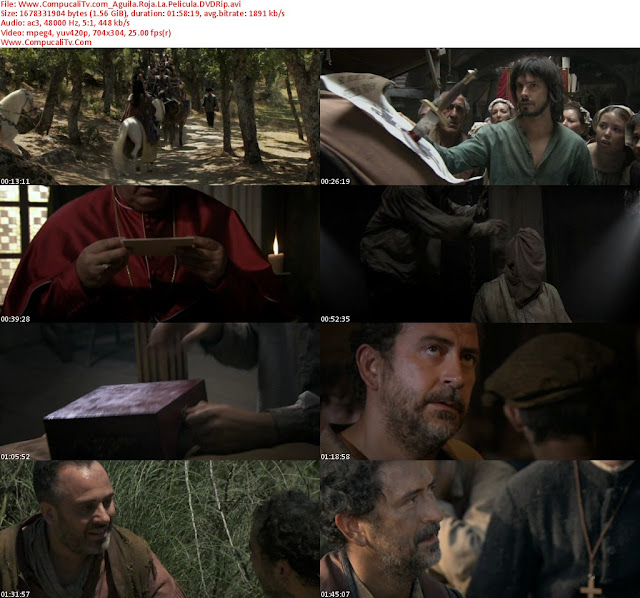 Águila Roja La película [2011] DVDRip Castellano