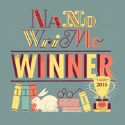 Diploma de ganador de Nanowrimo