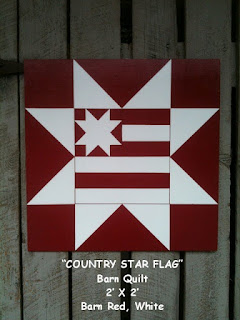 The Barnquiltstore Blog Patriotic Flag Barn Quilt
