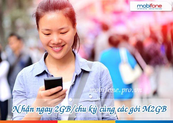 Cách đăng ký các gói 3M2GB, 6M2GB và 12M2GB Mobifone
