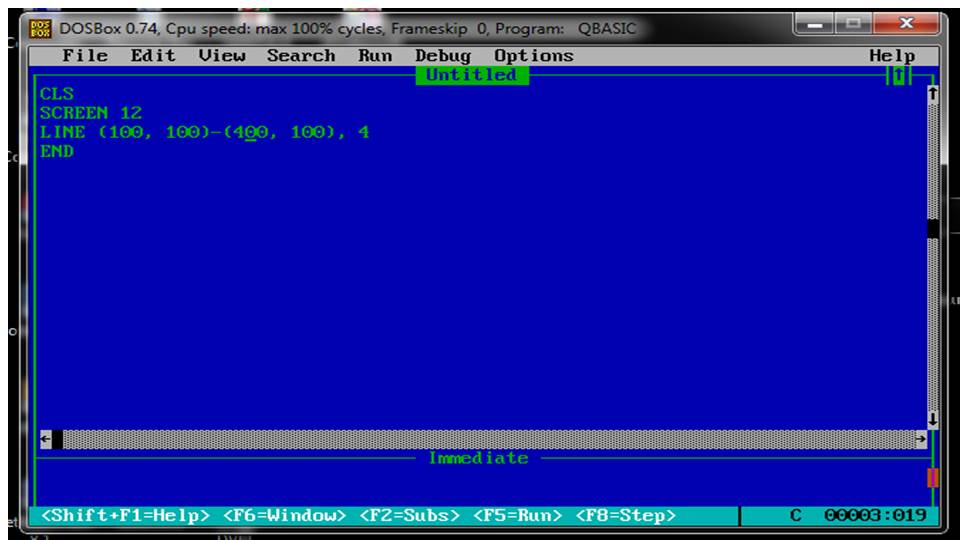 Computer Knowledge & Tips: QBASIC ARRAY & GRAPHICS CLASS VIII