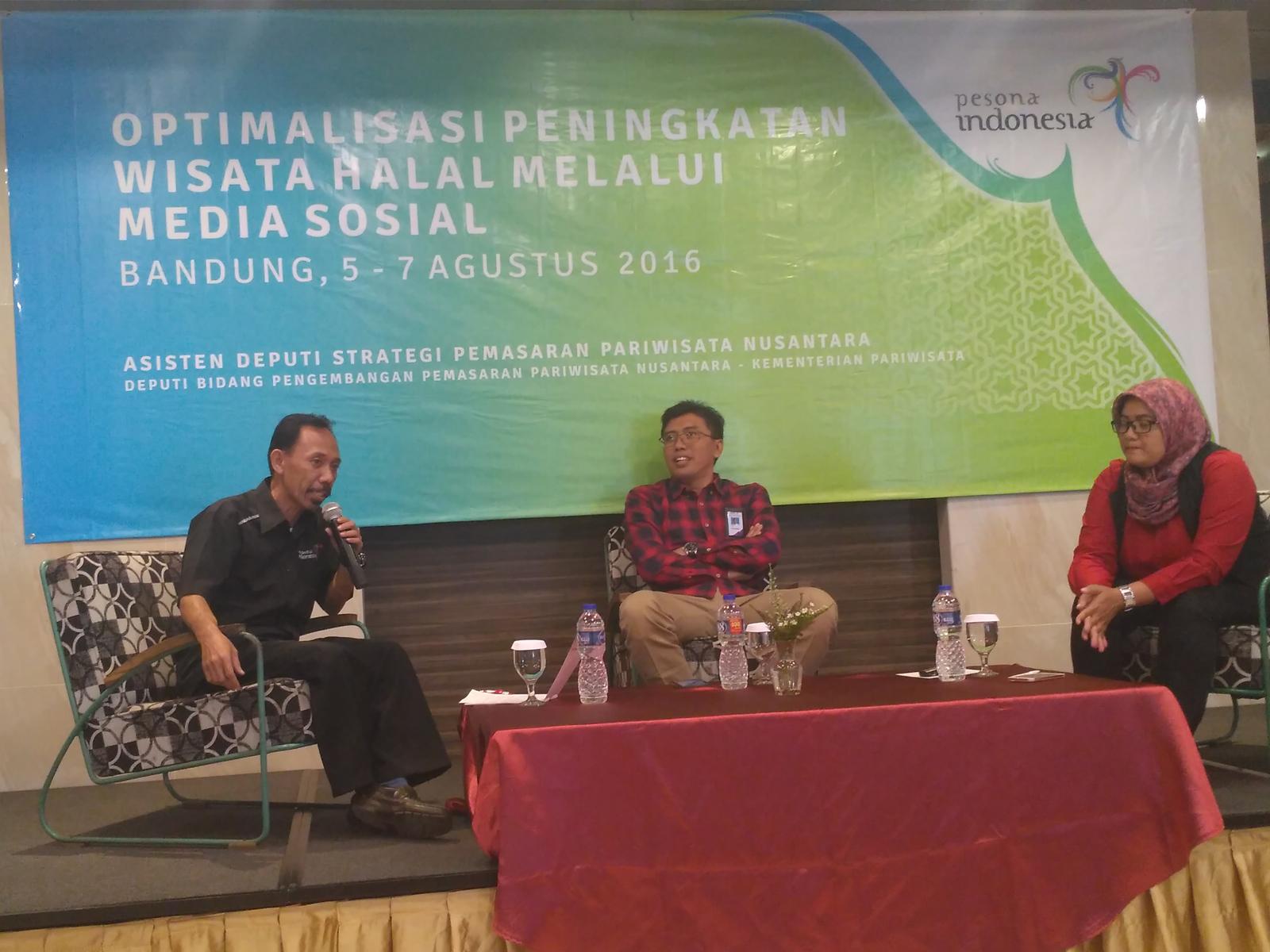 Kegiatan Optimalisasi Wisata Halal Melalui Medsos di Bandung