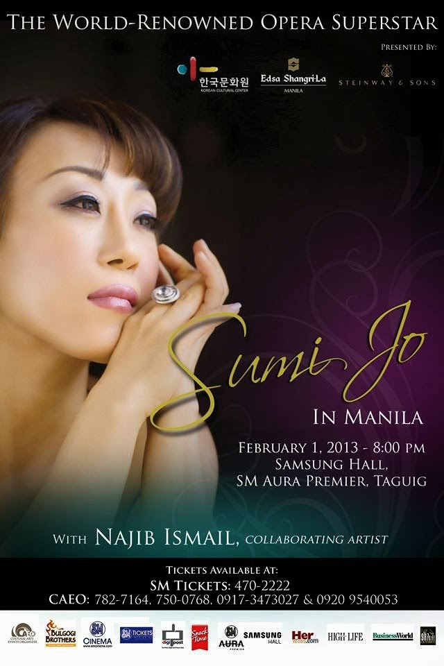 Sumi Jo The Benefit Concert In Manila