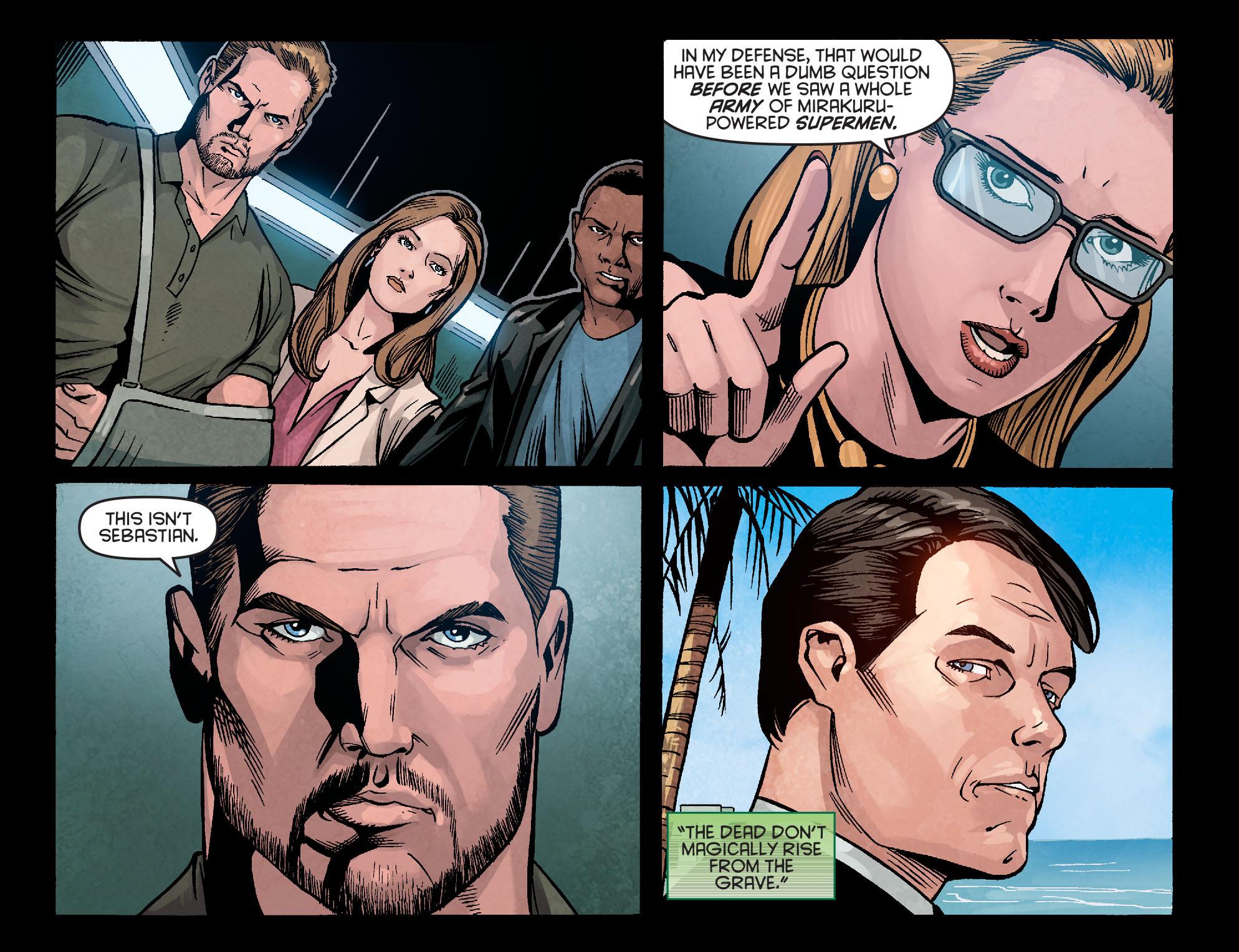 Read online Arrow: Season 2.5 [I] comic -  Issue #5 - 6