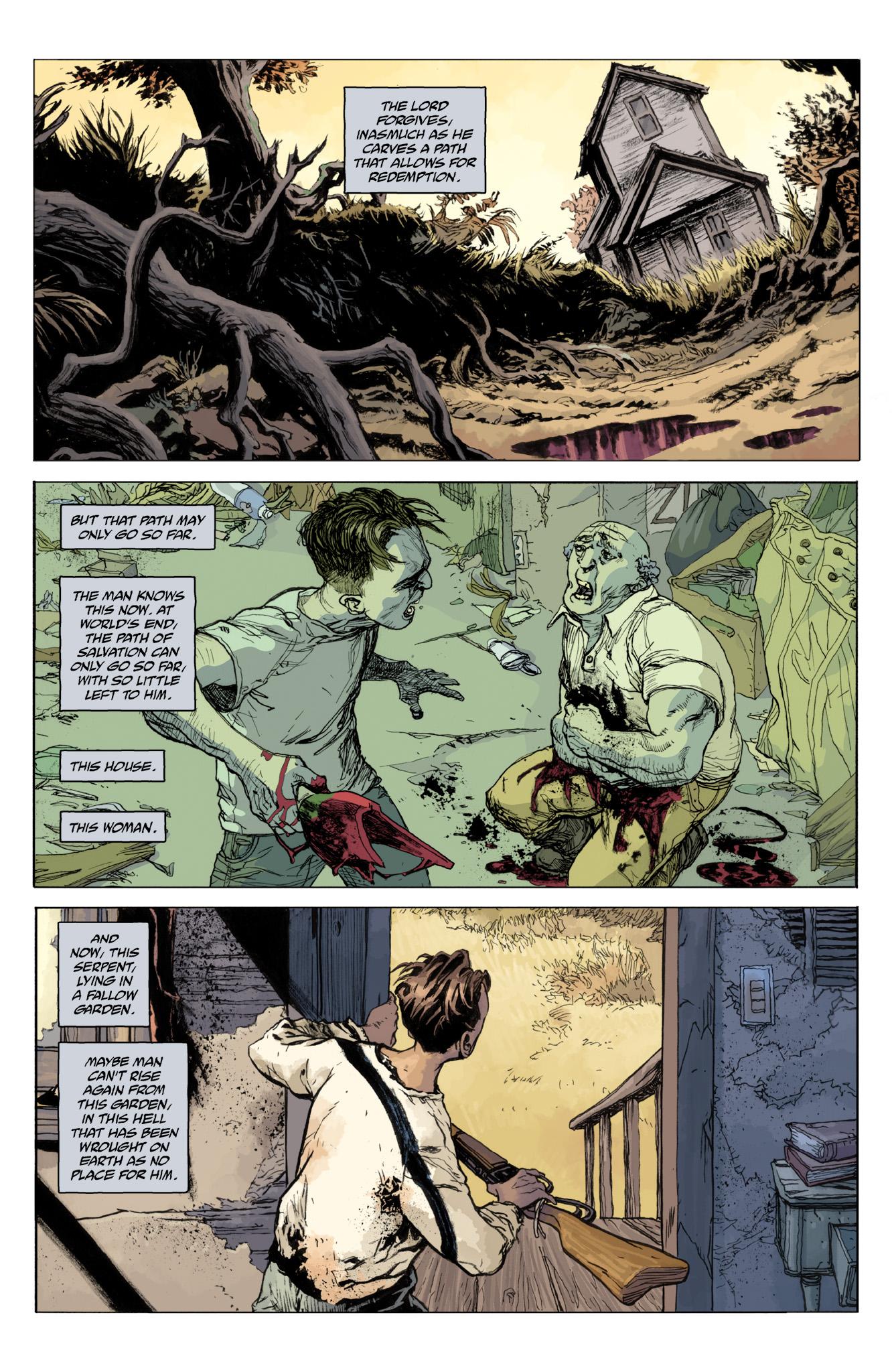 Read online Abe Sapien comic -  Issue #12 - 19