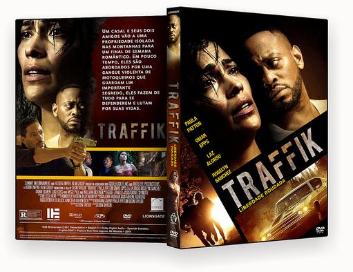 CAPA DVD – Traffik Liberdade Roubada DVD-R