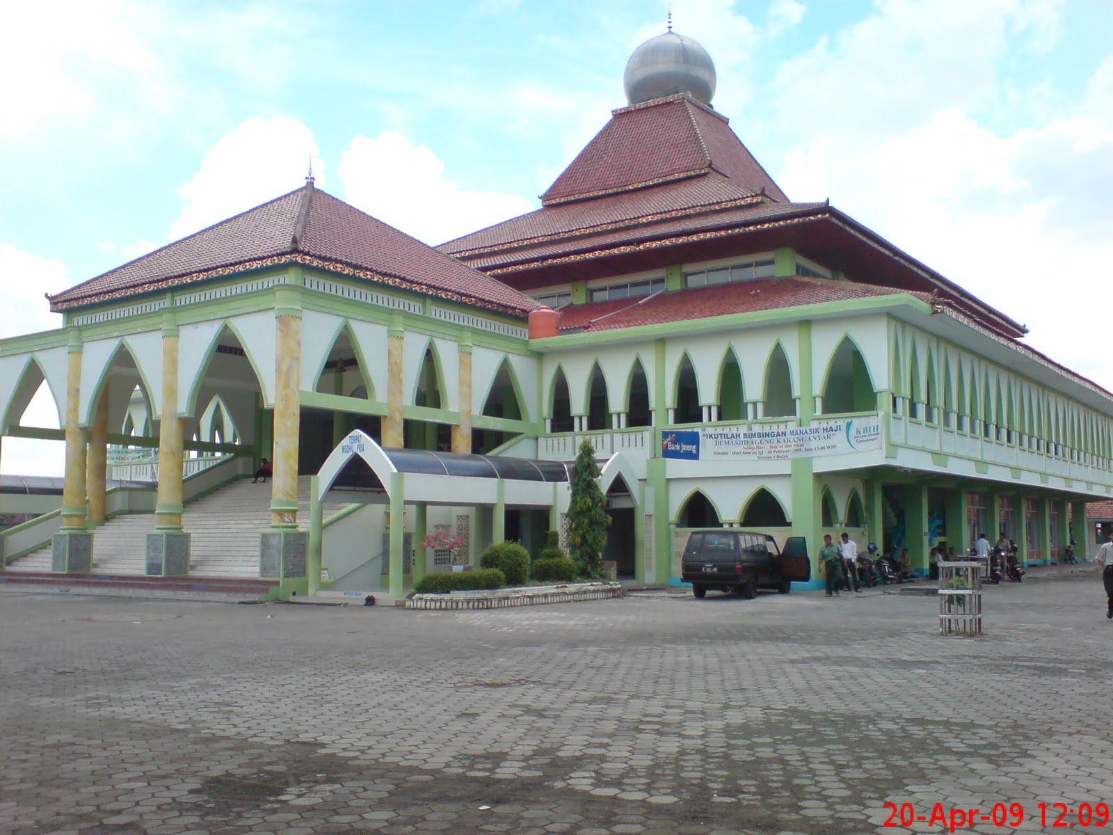 Masjid Agung Karanganyar ~ Bumi Nusantara