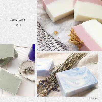 【予告】期間限定!季節の手づくり石鹸スペシャルレッスン♪ 2017spring