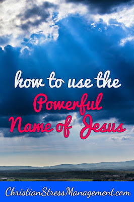 Christian spiritual warfare blog post How to use the powerful name of Jesus