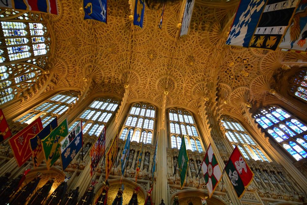 voûte de la chapelle Henri VII... du détail, du détail !
