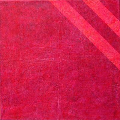 Farbflächenmalerei, Rotes Quadrat, Abstrakte Malerei