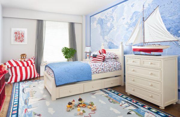 Desain Kamar Tidur Minimalis Warna Biru Penuh Kreasi dan Inspirasi