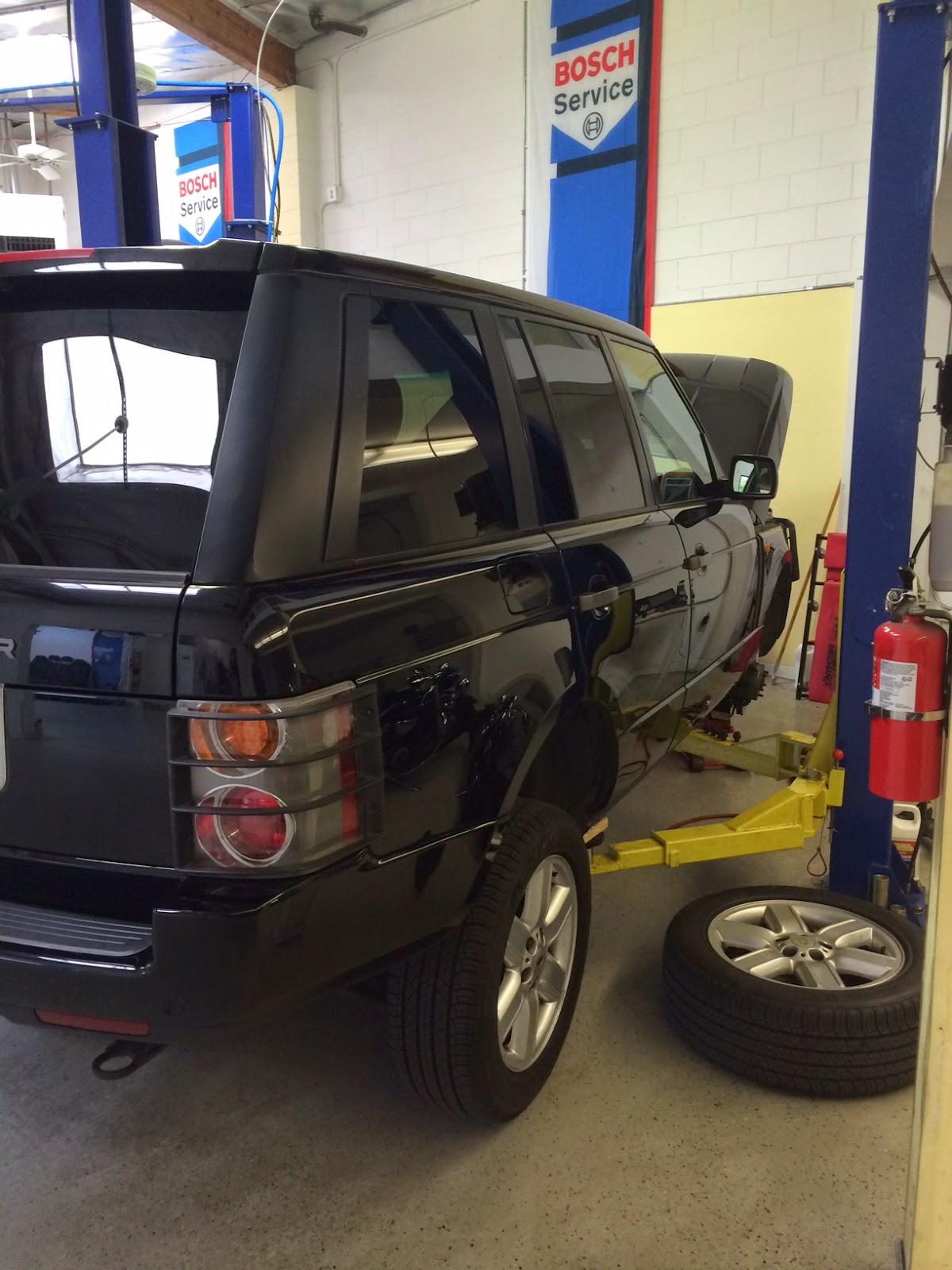 Bosch European Motors Range Rover Service Repair and Consignment