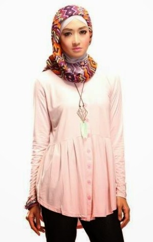 model baju atasan muslim wanita muslimah terbaru 4 34 model baju atasan muslim wanita muslimah 2017, cantik modis,Model Baju Wanita 34