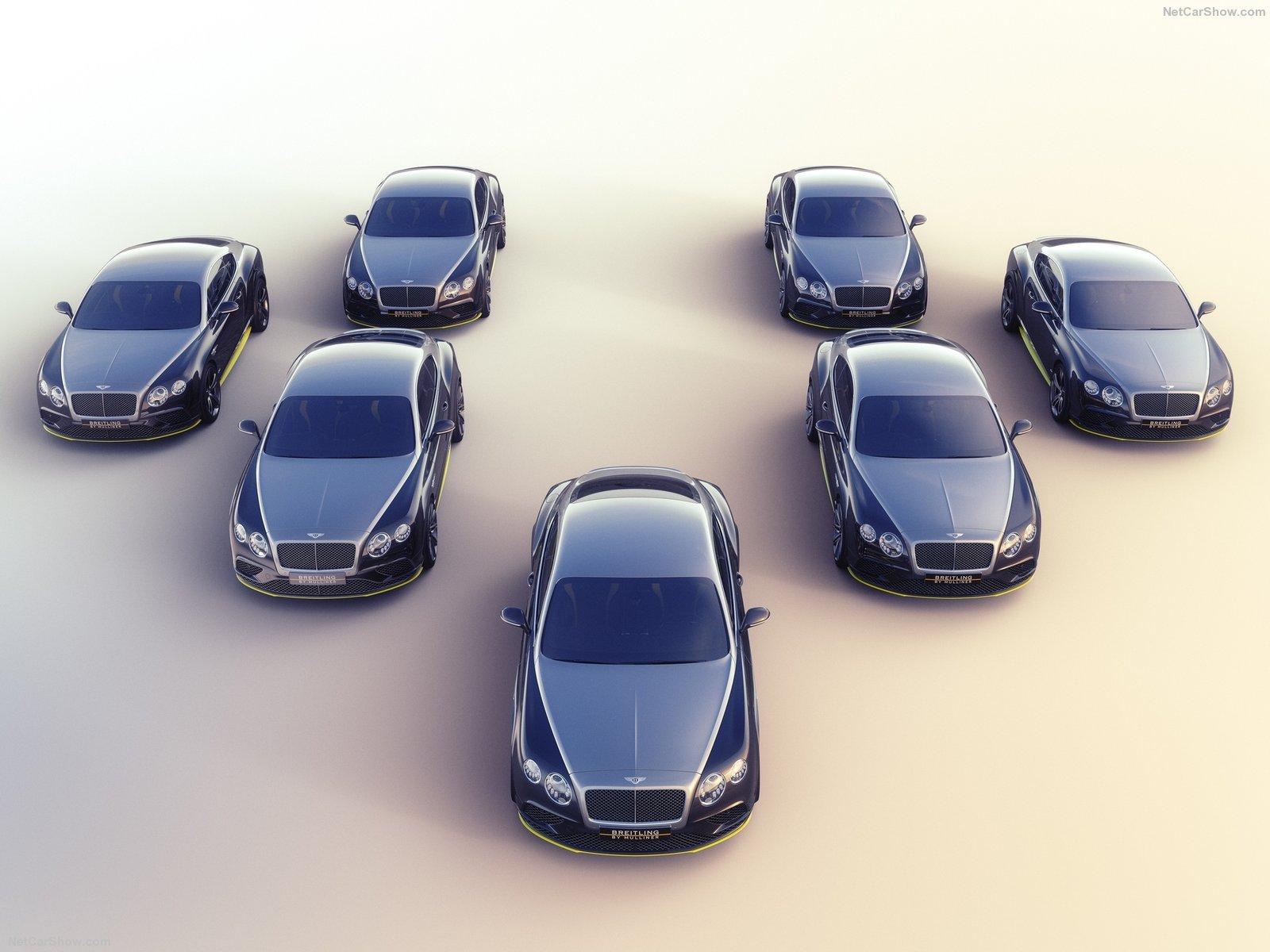 Sự ra mắt của Continental GT Speed Breitling Jet Team Series hoàn toàn là ngẫu hứng?