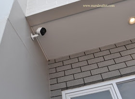 kamera cctv di setiap sudut rumah savasa deltamas nurul sufitri blogger panasonic home network system