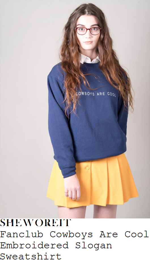 fearne-cotton-fanclub-navy-blue-and-white-cowboys-are-cool-embroidered-slogan-detail-long-sleeve-relaxed-fit-sweatshirt