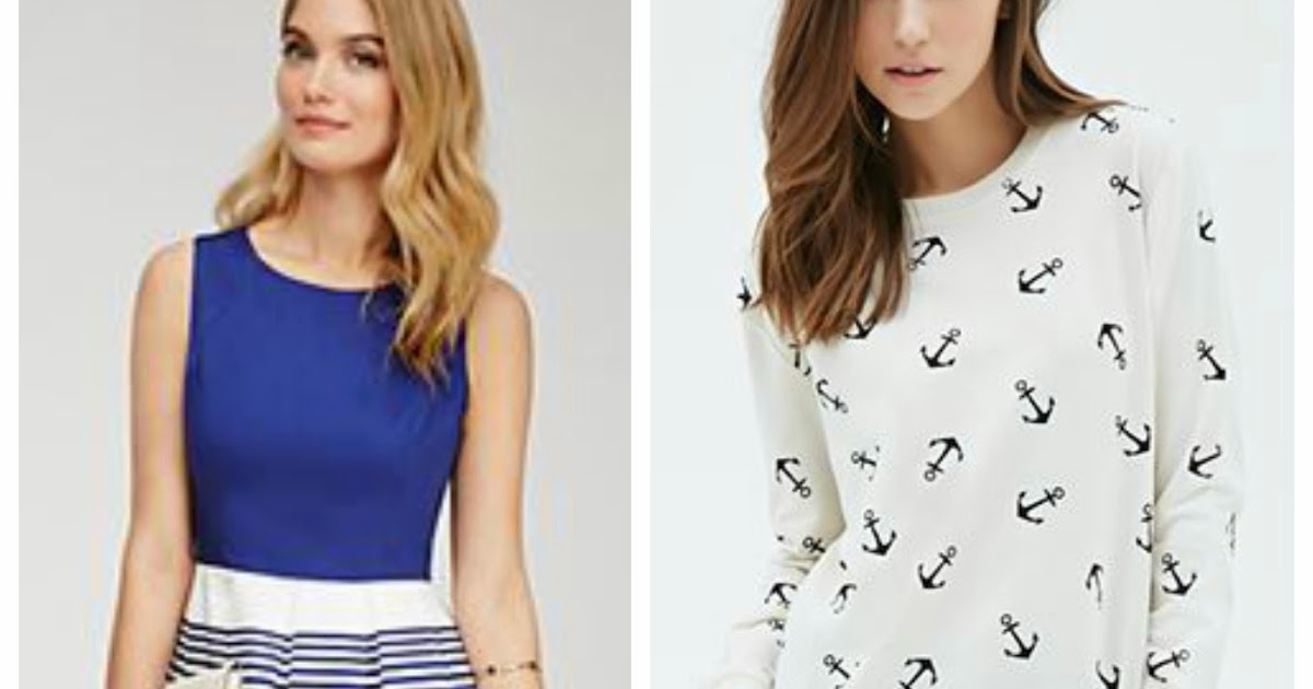 Nautical By Nature Forever21 Nautical Spring Wardrobe For