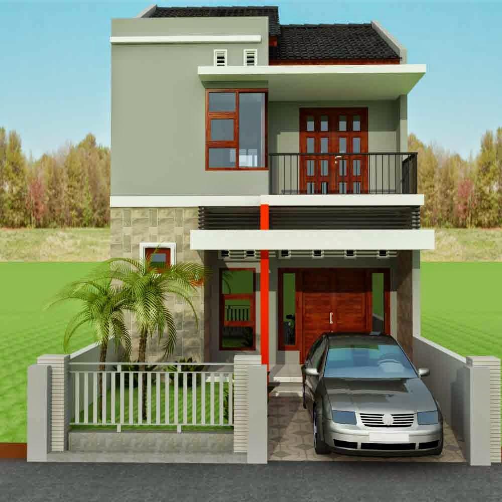 Desain Rumah Minimalis 2 Lantai Type 45 Desain Rumah Minimalis