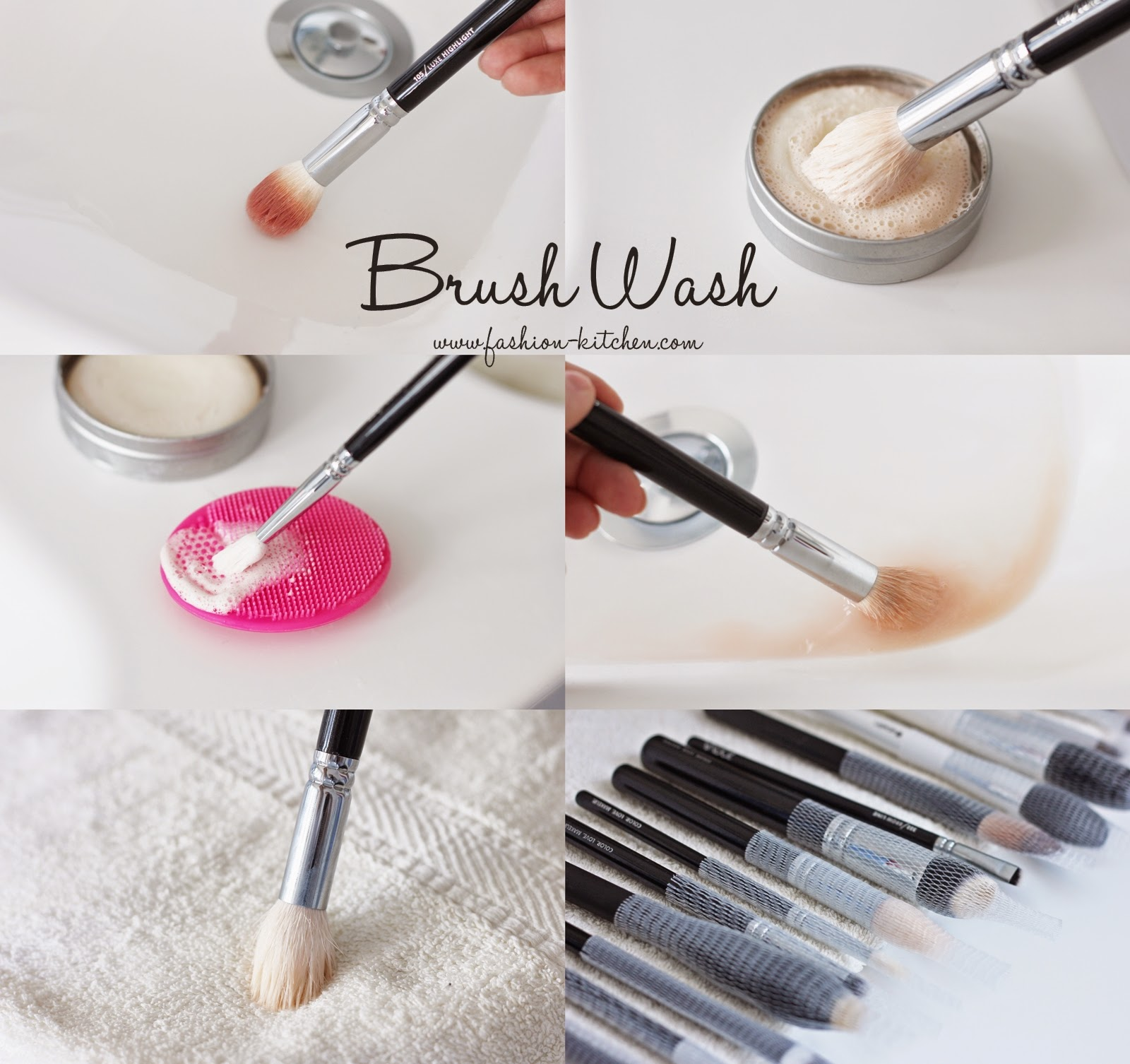 Brush Wash Wie Du Deine Make Up Pinsel Richtig Reinigst Fashion