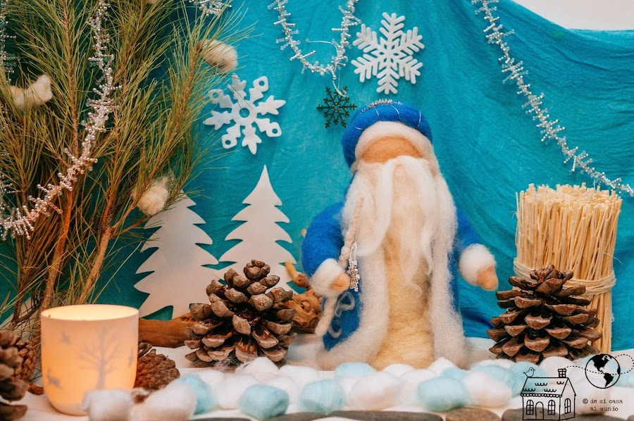 rey invierno mesa estacion Waldorf