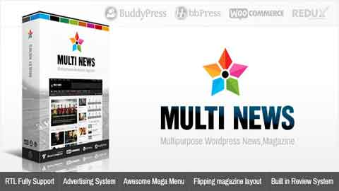 Multinews v2.5.8 Multi-purpose WordPress Theme